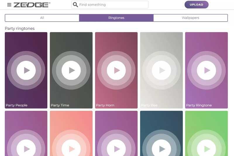 Scarica suonerie Android su Zedge
